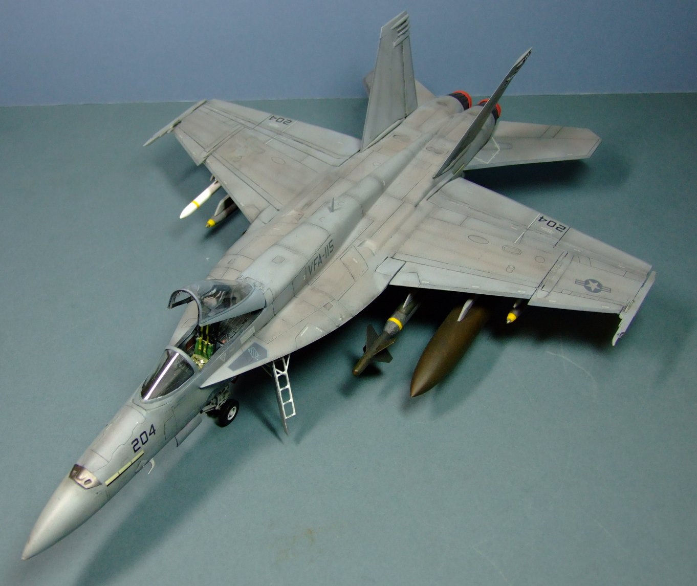 Boeing F/A-18E, Super Hornet, VFA-115, US Navy, 1:48