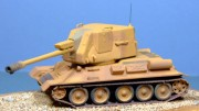 T-34 122mm Self-Propelled Gun, 1:72