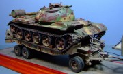M9 Trailer and Syrian T-55, 1973, 1:35