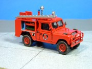 Land Rover Fire Tender