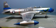 Lockheed F-80C Shooting Star, 16th FIS, Korea. 1951, 1:32
