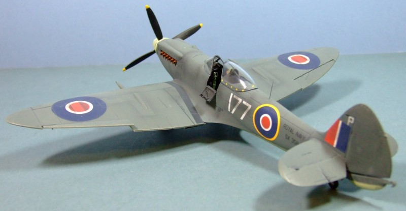Supermarine Seafire F.XVII, Fleet Air Arm, 1:48