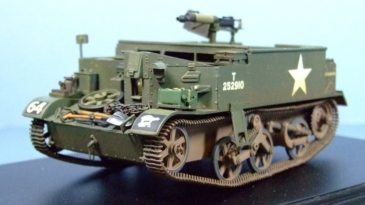 Medium Machine Gun Carrier, 49th (West Riding) Infantry Division, 1:35