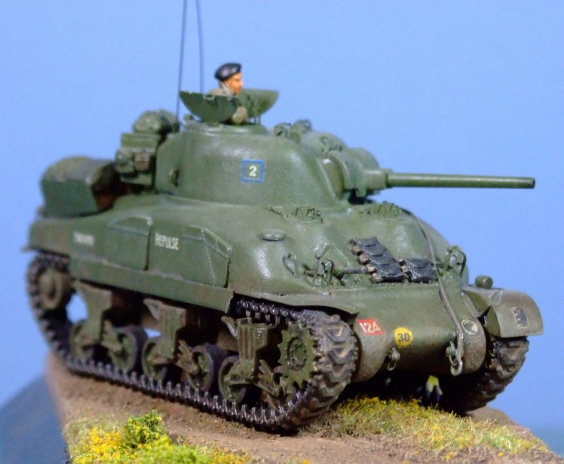 Sherman II, 4th Armoured Division, 1:72