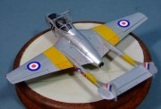 De Havilland Vampire T.11, North Weald, 2012, 1:72
