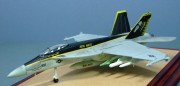 Boeing F/A-18F Super Hornet, VFA-27 Royal Maces, US Navy, 1:100