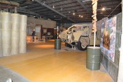 The Afghanistan exhibit