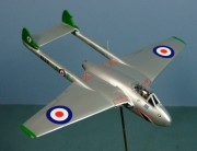 De Havilland Vampire FB.5, 112 Sqn RAF, Fossberg, West Germany 1951, 1:72