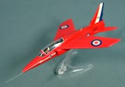 Folland Gnat T1, Red Arrows, RAF Kemble 1972, 1:72