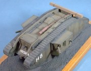 British Tank Mk.IV Male, (Emhar kit) 1:35