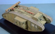 British Tank Mk.IV Male, (Tamiya kit) 1:35