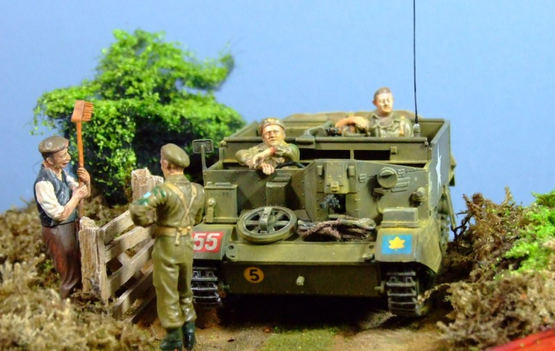 Universal Carrier, 3rd Canadian Division, Hampshire, May 1944, 1:35