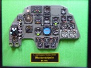 Messerschmitt Bf110 intrrument panel