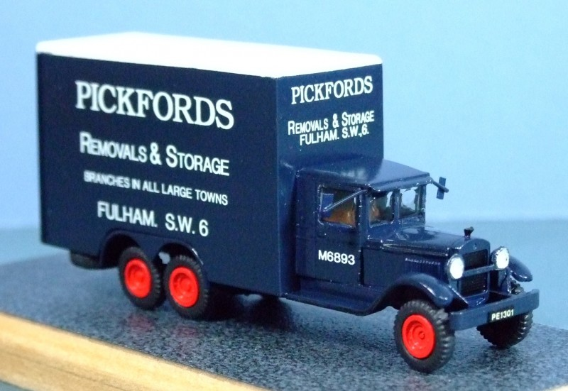 Autocar Dispatch Model SA Pantechicon, ~1947, 1:72