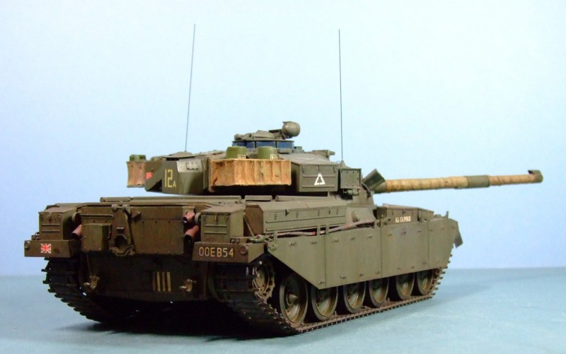 Chieftain Mk. 5 Main Battle Tank, 1:35