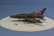 NA F-100D Super Sabre + bike