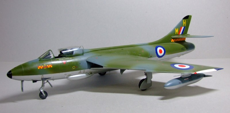 Hawker Hunter F.6, 92 Sqn, RAF, 1:32