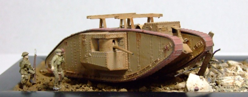 Mk 1 Tank, Egytian Expeditionary Force, 1917, 1:72