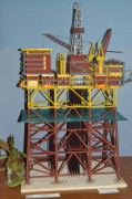 North Cormorant Oil Platform 1:200