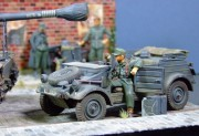 Dicker Max and kubelwagen, 1:35