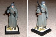 German MG42 Gunner, 1/16