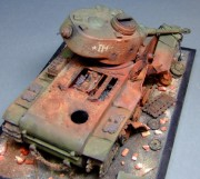 Burnt-out KV-1