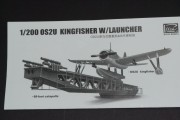 OS2U Kingfisher on launcher 1:200