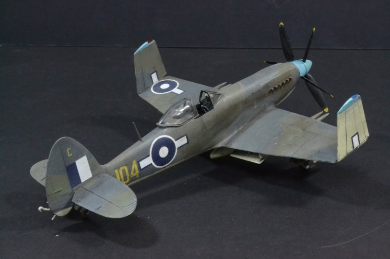 Supermarine Seafang Fr 32, British Pacific Fleet, 1946, What-if