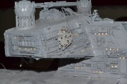 Imperial Star Destroyer - hidden stow-away