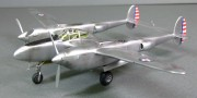 Lockheed XP-38 Lightning, 1:72