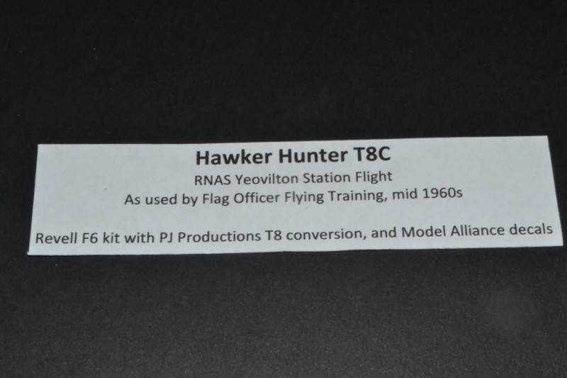 Hawker Hunter T8 C