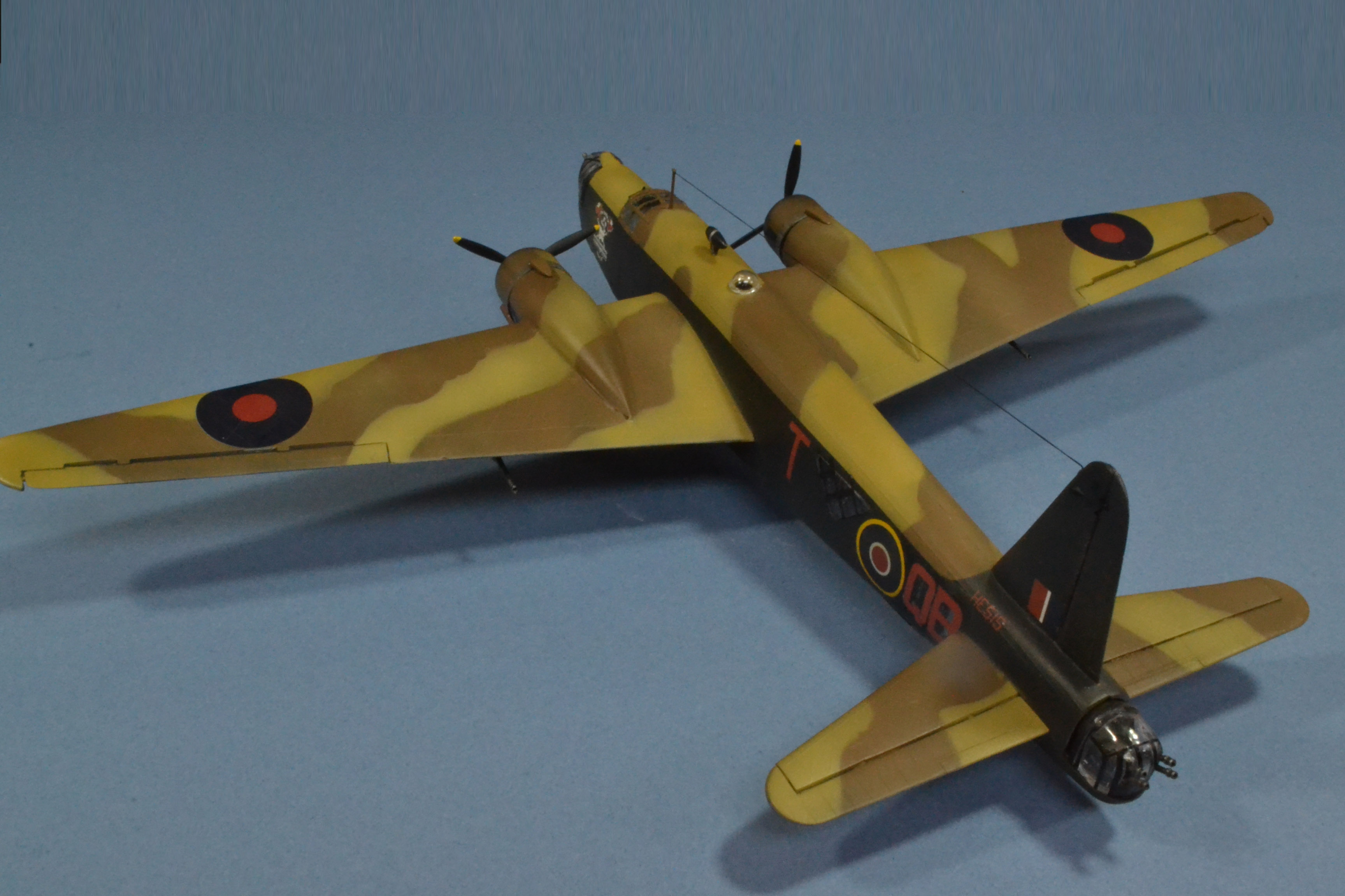 Vickers Wellington X, 424 (Canadian) Squadron, North Africa 1943