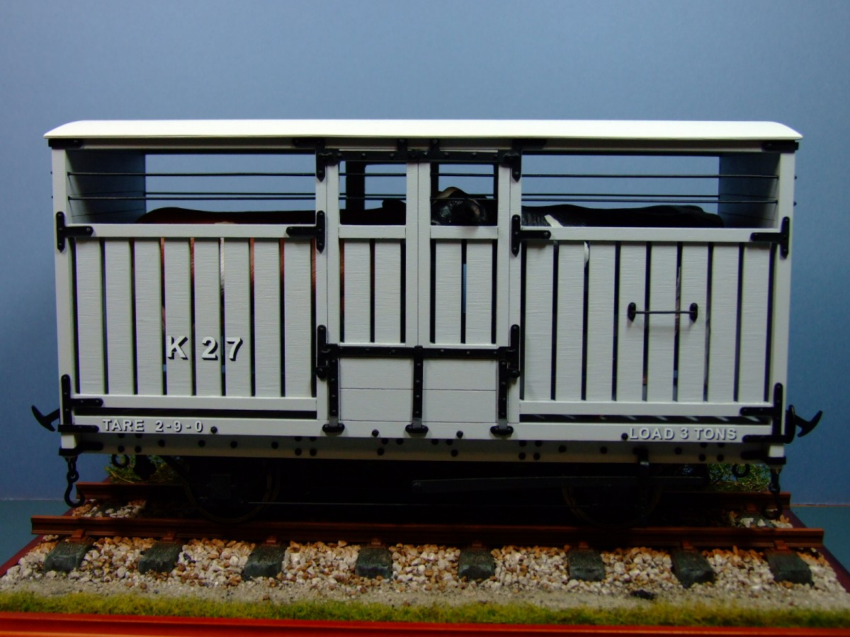 Manx Railway Cattle Wagon