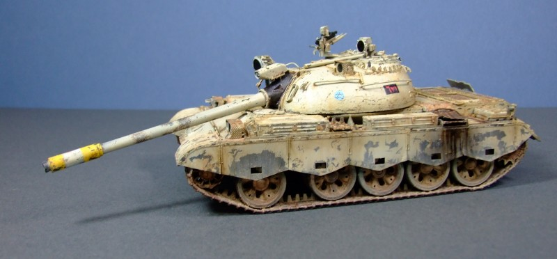 Iraqi Type 69, 1991 Gulf War, 1:35