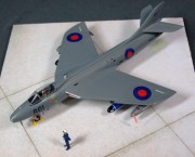 Hunter FGA11, FRADU, late 1980s, 1:72
