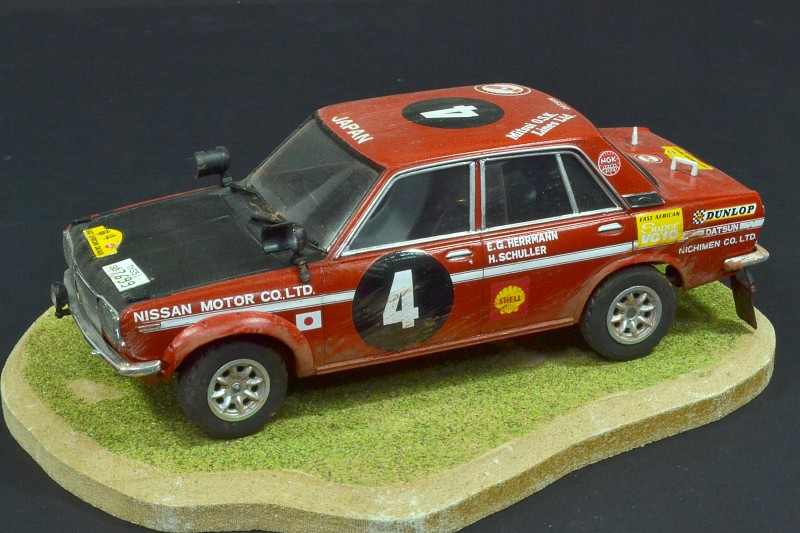 Datsun Bluebird 1600 SSS Safari Rally Winner 1970