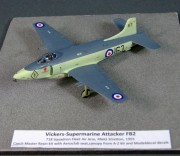 Vickers Supermarine Attacker FB.2, 1:72