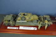 Scammell Pioneer Recovery + AHSD 116 Heavy Trailer + Marmon-Herrington Armoured Car