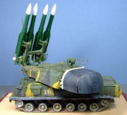 9K37 Buk (Tree), 53rd Air Defence Brigade, Kursk 2019, 1:35