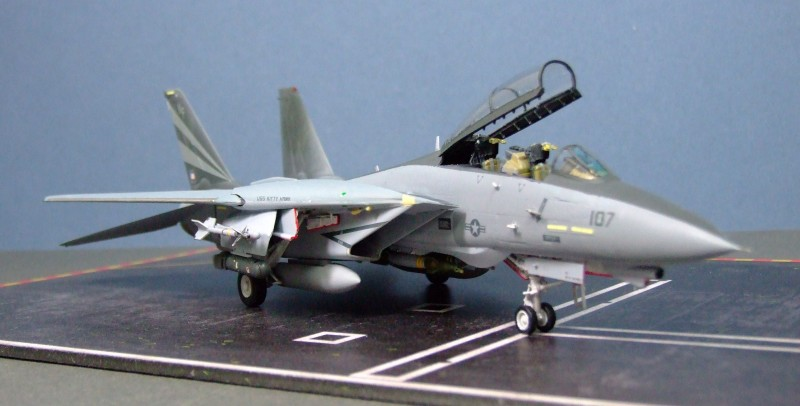 F-14A Tomcat, VF-154, US Navy, 1:72