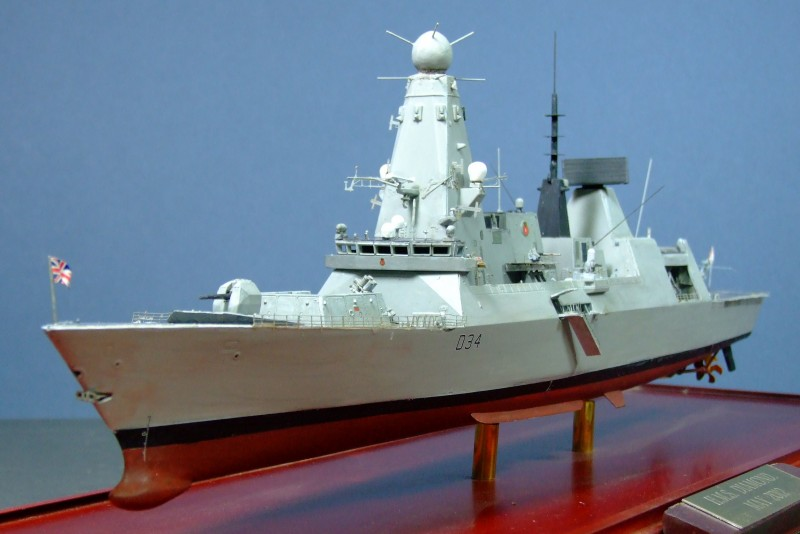HMS Diamond, Type 45 Destroyer, Royal Navy, 1:350