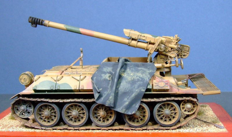 T-34/D-30 122mm self-propelled howitzer, Egyptian Army, 1:35