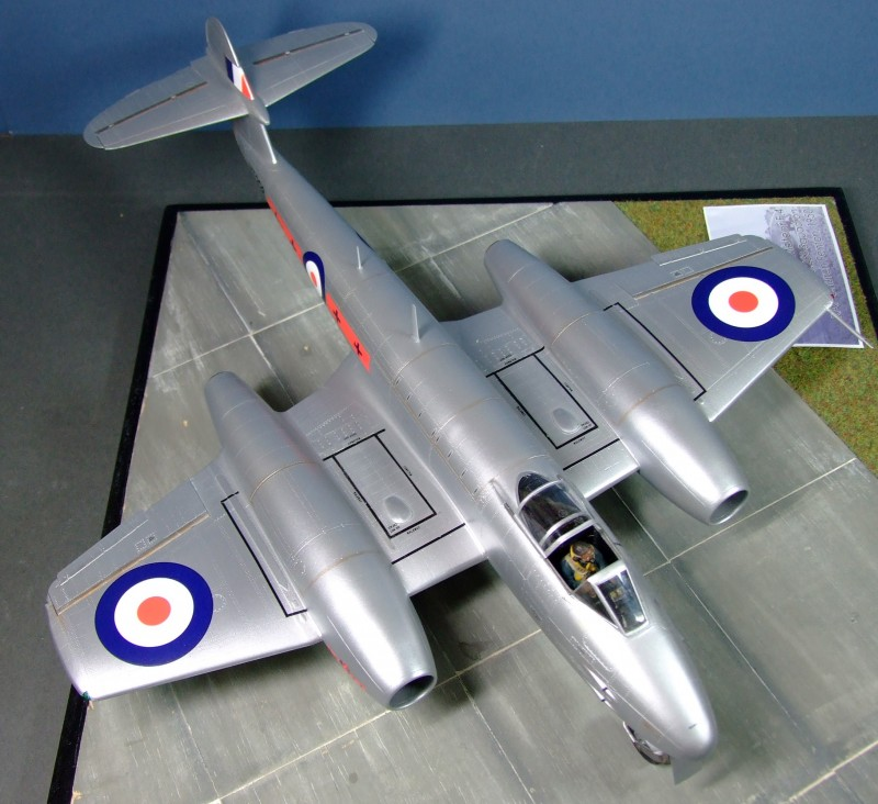 Gloster Meteor F4, 263 Sqn RAF, 1:32