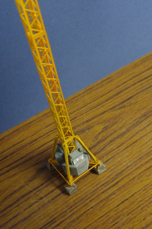 Leibherr Tower Crane, HO/OO scale