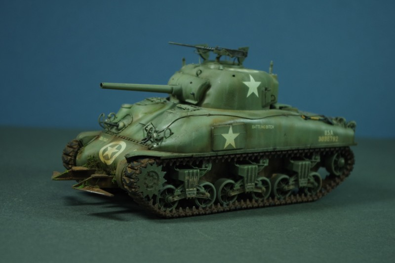 M4A1 Sherman, Normandy