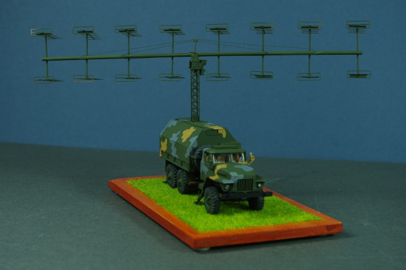 P-18 Tekek Surveillance Radar (Spoon Rest