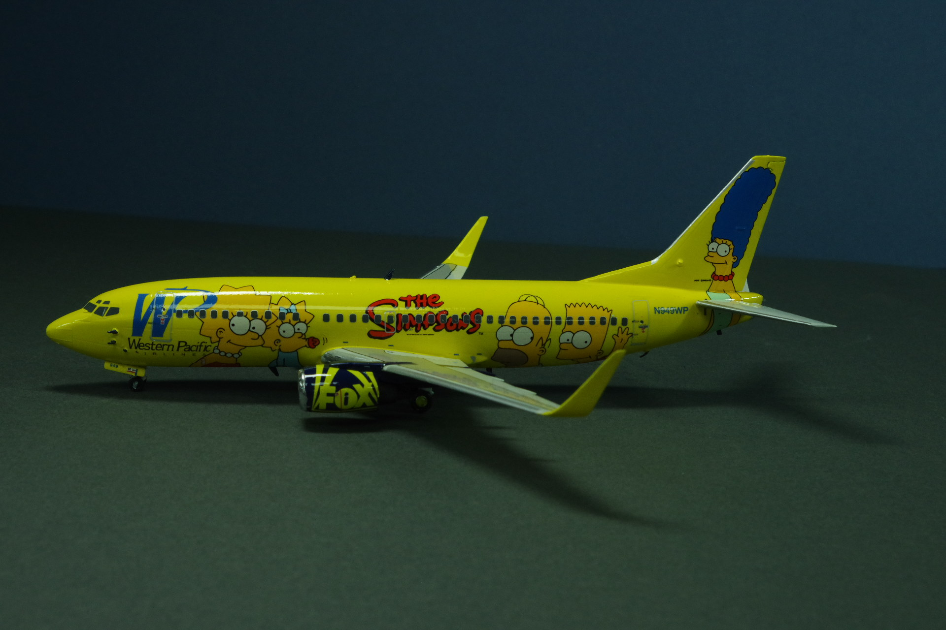 Boeing 737-300 SP Western Pacific