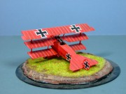 The Red Baron's Fokker DR1