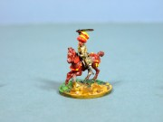Mounted swordsman
