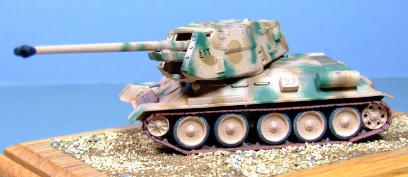 T-34 100mm Self-propelled gun, Egyptian army, 1:72